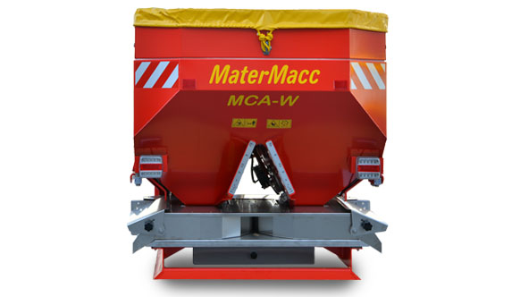 Spargiconcime MaterMacc MCA-W ELEKTRO